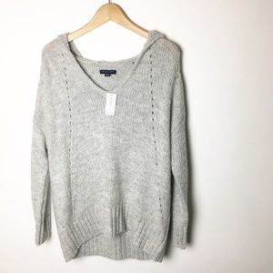 NWT SZ S American Eagle Outfitters Gray Sweaters